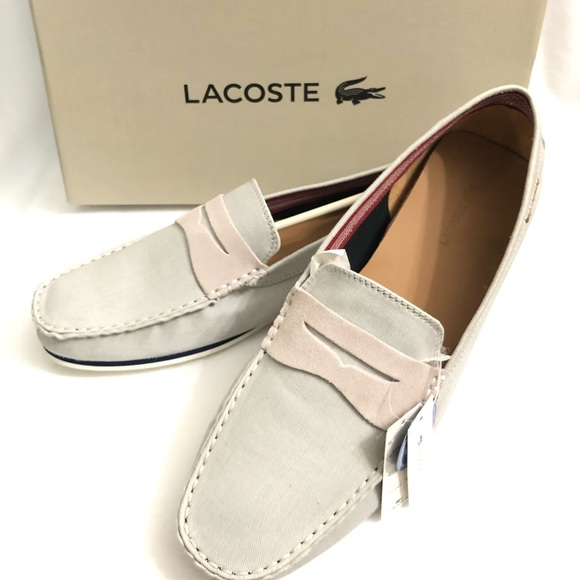 Lacoste Other - Lacoste Chanler 5 SRM Canvas Slip on shoes